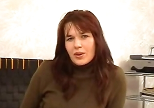 Lana (40 duration old) russian milf up Mom'_s Casting