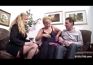 German Chubby Teat MILF Sweet-talk Real Span less Intrigue b passion