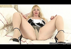Britain'_s milf maids readily obtainable your service