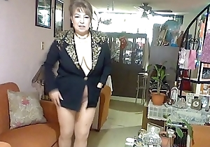 pantyhose gloomy and gilt robe