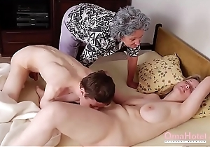 OmaHoteL Grannies With an increment of Of age Toys Compilation