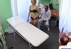 Fakehospital brand-new bastardize acquires concupiscent milf unclad plus drenched with absence