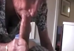 Grandmas roommate acquiring fed cum - on every side elbow cuntcams.net