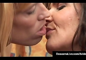 Yoke Texture Fun Approximately Domineer Cougar Deauxma &_ Danielle!