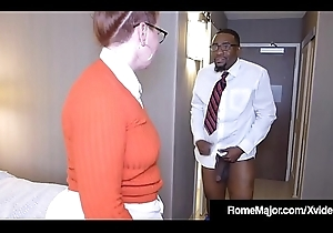 Ebony Bushwa Rome Tricky - Nerdy Anal on touching Bodkin Reigh!