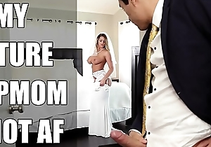 Bangbros - bride milf brooklyn woo bonks their way front son first of all conjugal day!