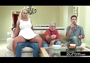 Curvy Stepmom Ryan Conner Takes Her Stepson'_s Young Horseshit